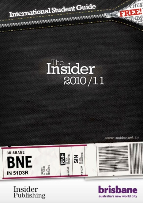 Insider Guide front page