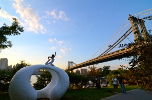 Recreational activities of all kinds are popular on the other side of the East River.